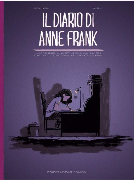 Anna Frank, il diario in un graphic novel