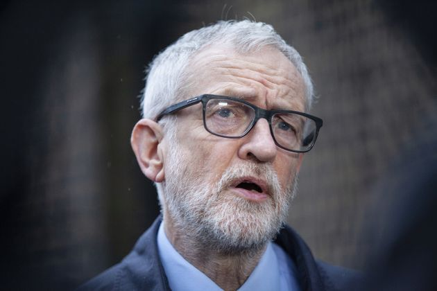 Former Labour leader Jeremy Corbyn who will be readmitted to Labour just weeks after he was suspended...