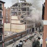 Una fuerte explosión en el centro de Madrid provoca al menos dos