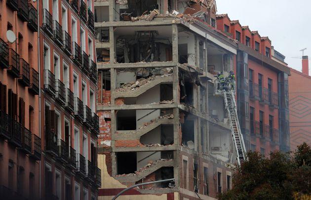 Μεγάλη έκρηξη με τουλάχιστον τρεις νεκρούς στη