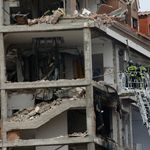 Una fuerte explosión en el centro de Madrid provoca al menos tres muertos y 11