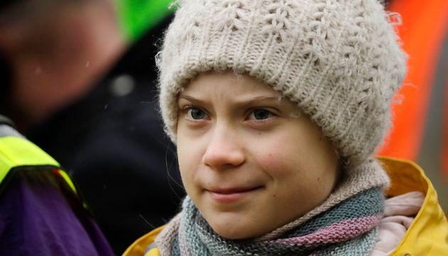 Greta Thunberg profite du départ de Trump pour se moquer de