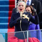 바이든 취임식에서 열창한 레이디 가가의 패션이 의미하는 것