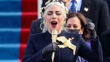 Lady Gaga Performs Soul-Stirring National Anthem Rendition At Joe Biden's Inauguration