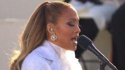 El gesto más aplaudido de Jennifer Lopez en la toma de posesión de Joe