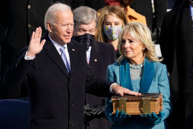 Pour Joe Biden et Kamala Harris, les bibles de leur prestation de serment n'ont pas été choisies au