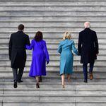 Le choix des tenues de Kamala Harris et des Biden n'avait rien