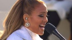 Jennifer Lopez Belts 'Let's Get Loud' In Middle Of Biden Inauguration