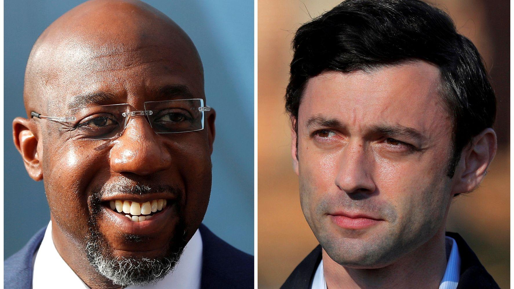 Georgia Democrats Ossoff And Warnock Sworn In, Senate Officially Flips Blue