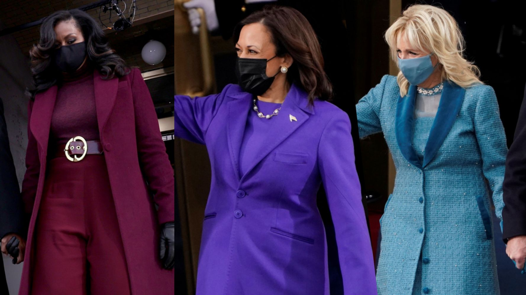 Эти пальто были хитрыми звездами дня инаугурации