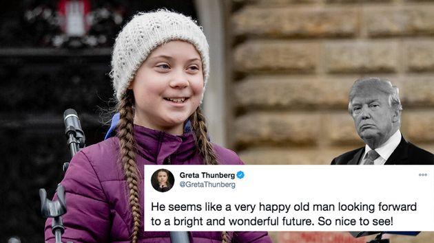 Comme elle l'avait déjà fait par le passé, la jeune militante écologiste Greta Thunberg a ironisé sur...