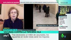 Margarita del Val se sale de su tono habitual y da un sonado corte a Mamen