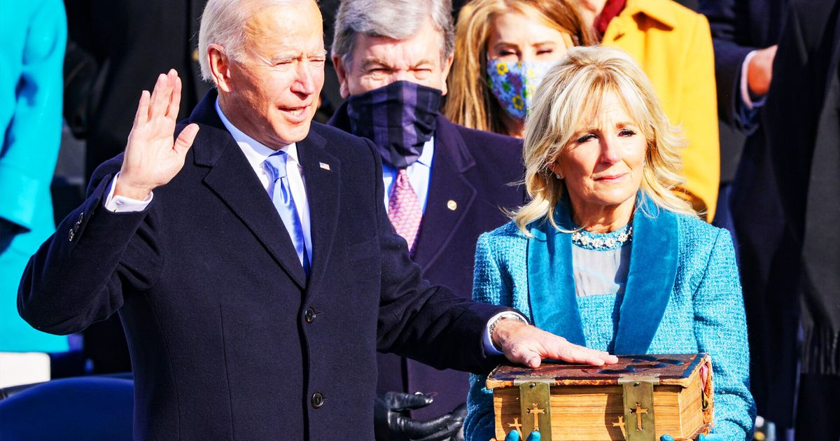Watch The Highlights From Joe Biden's Inauguration