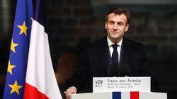 Macron félicite Biden en lui disant