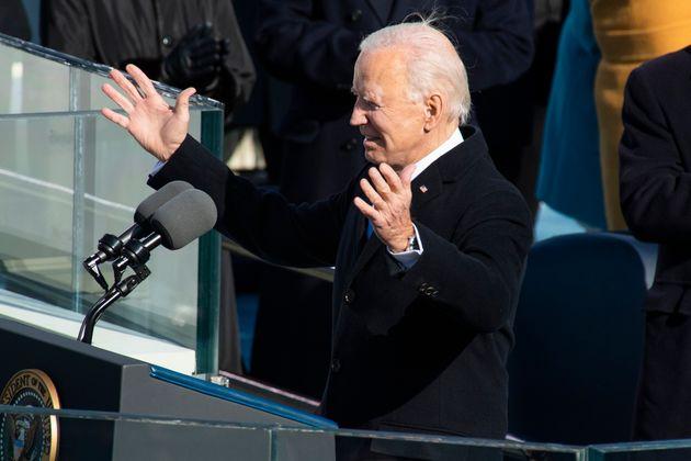 Momento del discurso de Joe