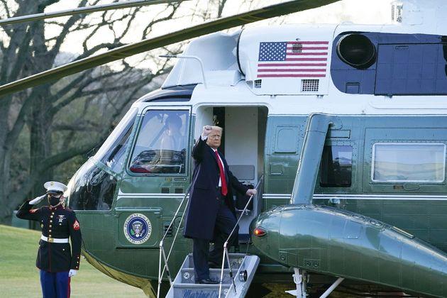 백악관을 떠나는