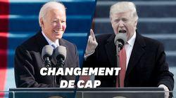 Pour son investiture, Biden a joué l'antithèse de Trump et son
