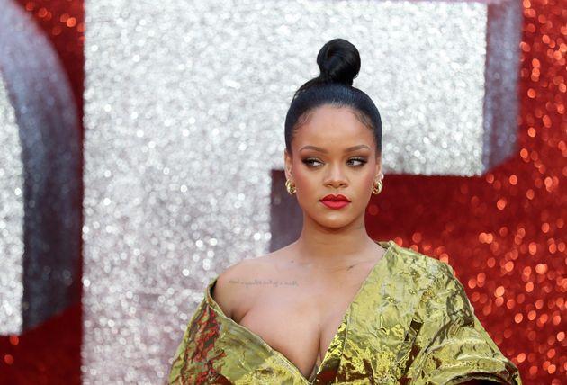 Rihanna en la presentación de la cinta 'Ocean's