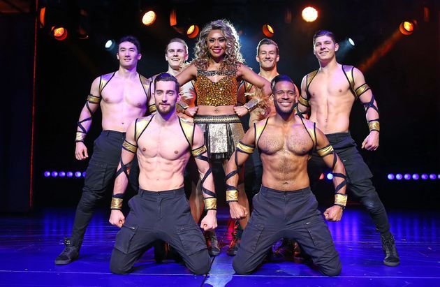 Paulini Curuenavuli poses during a production media call for The Bodyguard at Regent Theatre on August 24, 2017 in Melbourne, Australia.