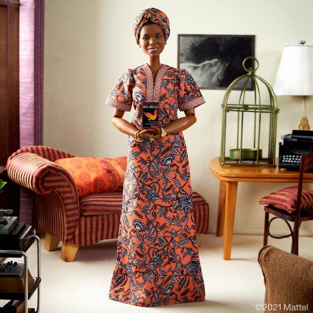 Maya Angelou a une Barbie à son effigie et ça veut dire
