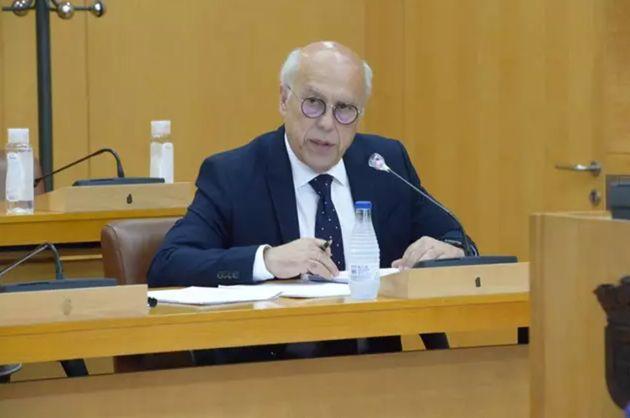 El consejero de Sanidad de Ceuta, Javier Guerrero, en una imagen de