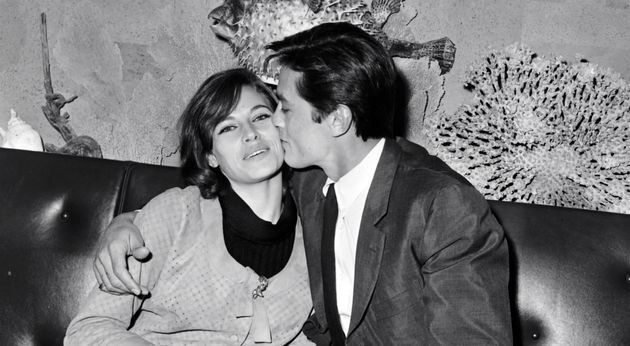 Nathalie Delon et son mari Alain Delon, ici en photo le 25 août