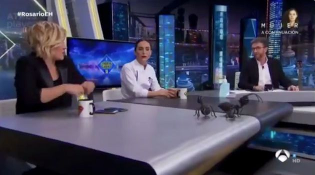 Cristina Pardo, Tamara Falcó y Pablo Motos en 'El