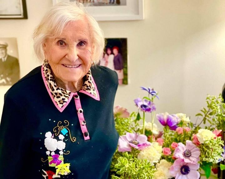 Ruth Schwartz, a 99-year-old resident at Atria Senior Living home in New York City, was excited to get the vaccine and said she had minimal side effects.