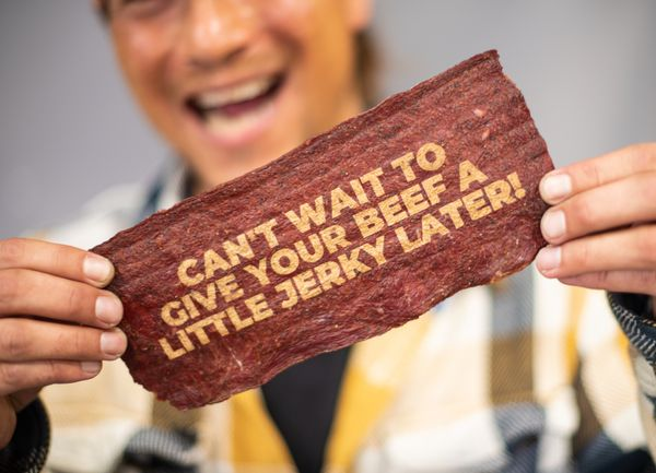 """Sure, you could give Dad a generic greeting card for Father's Day. Or you could <a href=""""https://manlymanco.com/products/meat"""