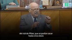 Andalucía pierde un 20% de las dosis al encargar jeringuillas inadecuadas y el consejero de Salud dice que es