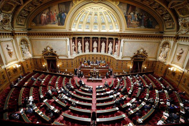 Le Sénat le 11 décembre 2014 (AP Photo/Francois Mori,