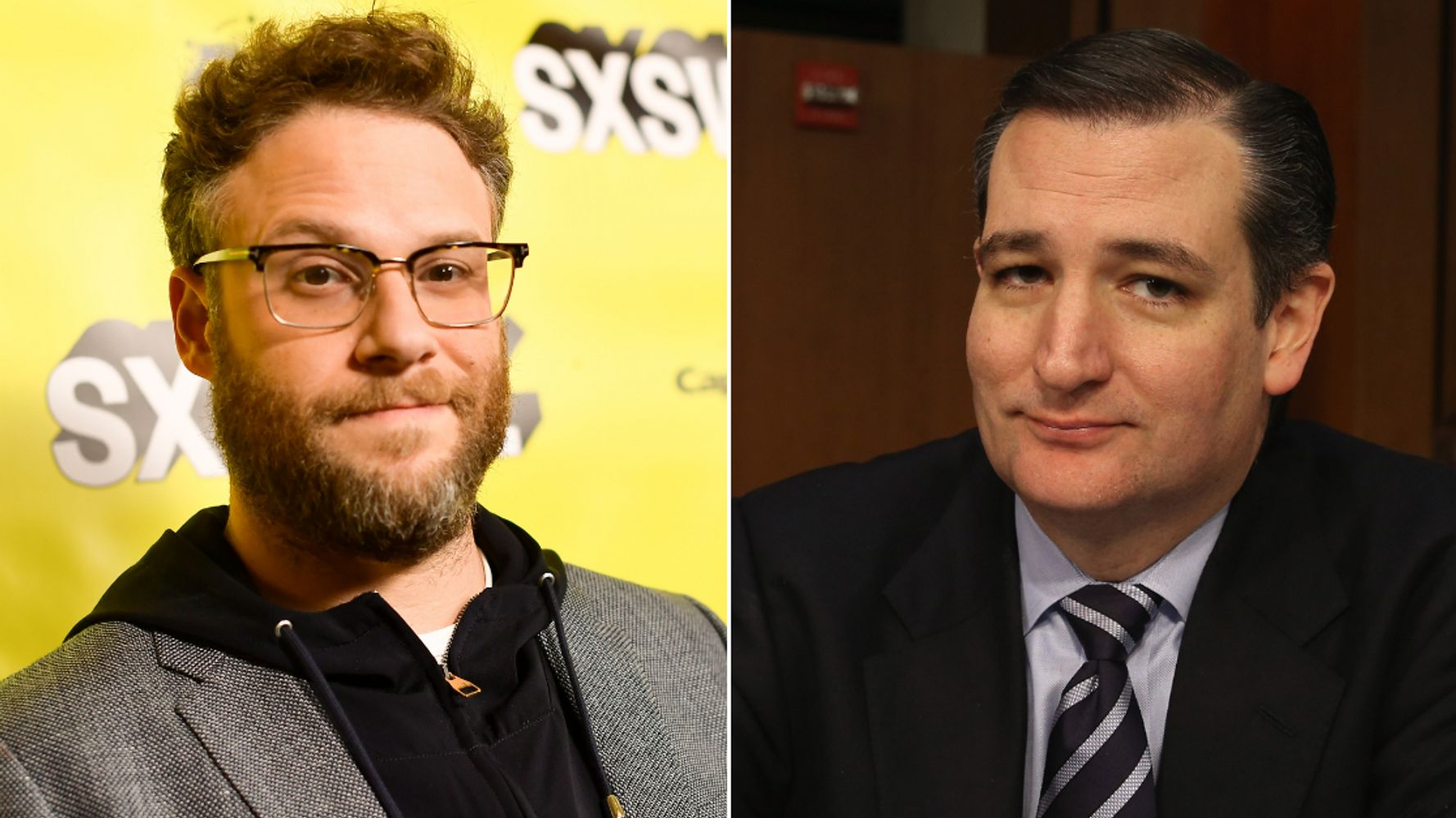 Seth Rogen Goes After 'Fascist' 'F**king Clown' Ted Cruz