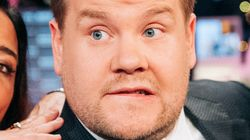 James Corden Tried To Get A 'Funny' Tattoo, But The Joke Is On