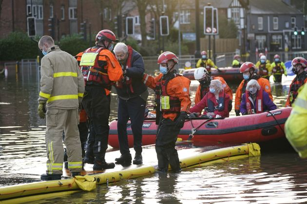 Storm Christoph: Care Home Residents Evacuated As Flooding Hits Northern