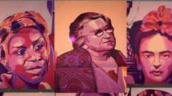 Vox consigue que el Ayuntamiento de Madrid borre un mural feminista con apoyo de PP y