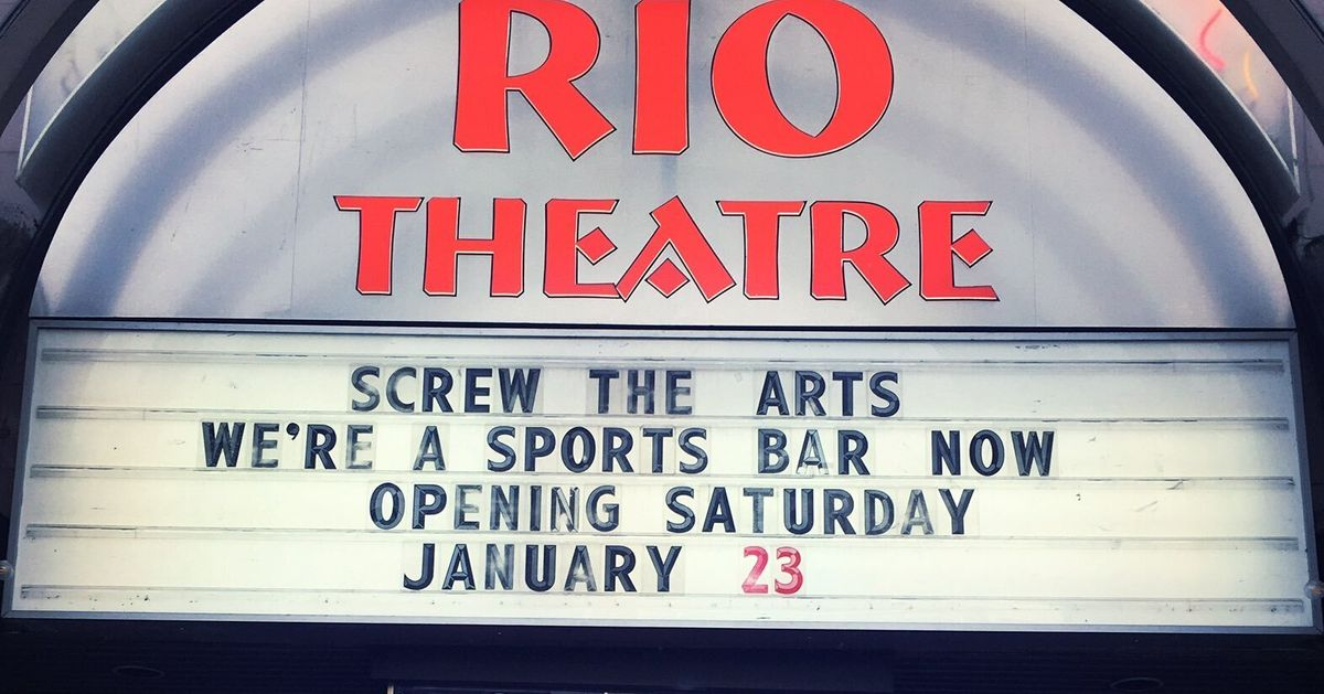 B.C. Movie Theatre Pivots To Sports Bar To Skirt Pandemic Restrictions