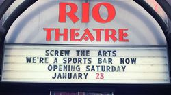 B.C. Movie Theatre Pivots To Sports Bar To Skirt Pandemic