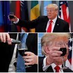 トランプ氏の「ダイエットコーラボタン」、政権交代とともに大統領執務室から無くなる