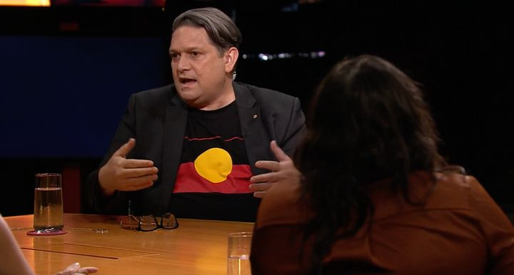 Playwright and artistic director Wesley Enoch on NITV's 'The Whole Table'.