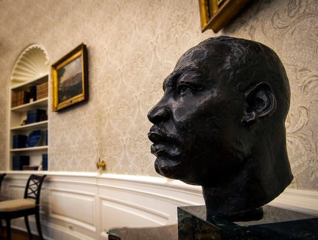 マーティン・ルーサー・キング・ジュニア氏の胸像