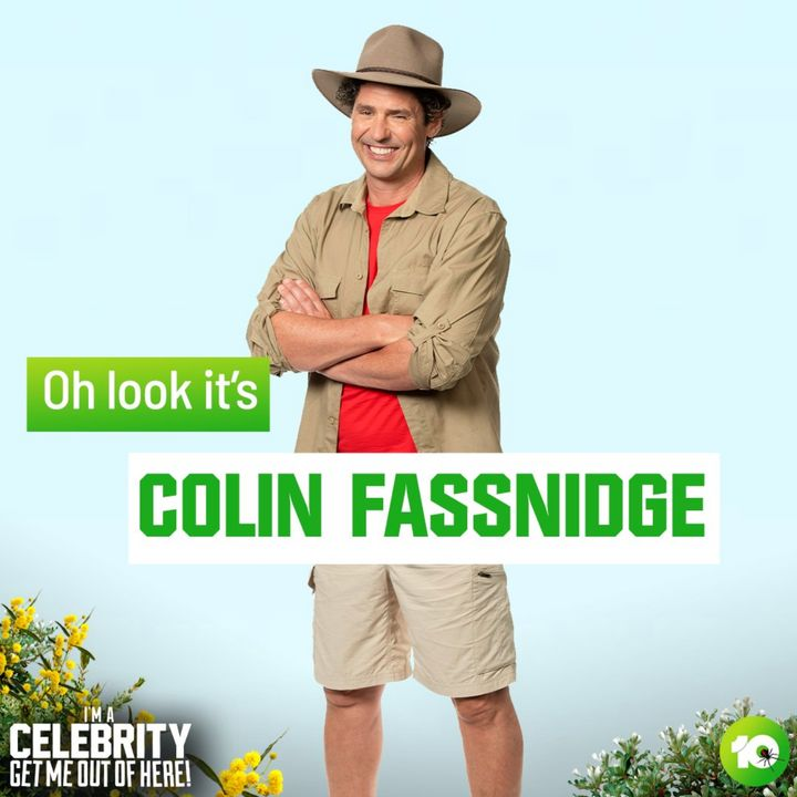 Colin Fassnidge on 'I'm A Celebrity... Get Me Out Of Here!'
