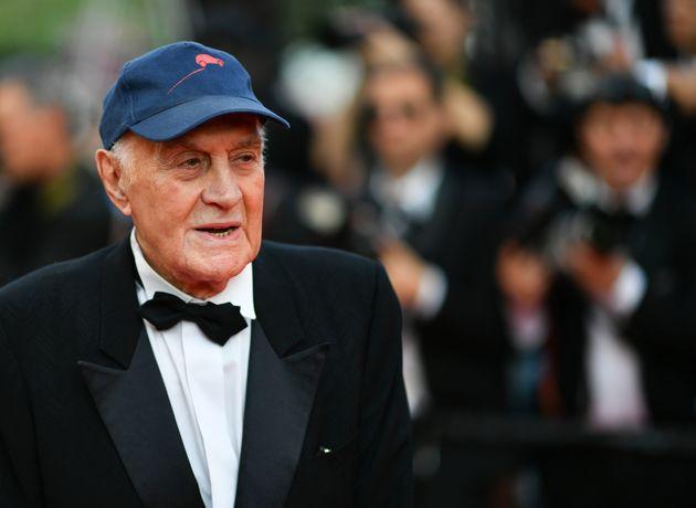 Rémy Julienne, ici photographié lors du festival de Cannes 2017, est mort à 90 ans...