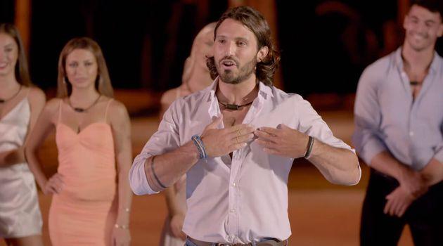 Javier, in his first appearance in 'La isla de las