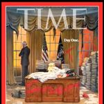 New Time Cover Shows The Utter Chaos Trump Left Behind For