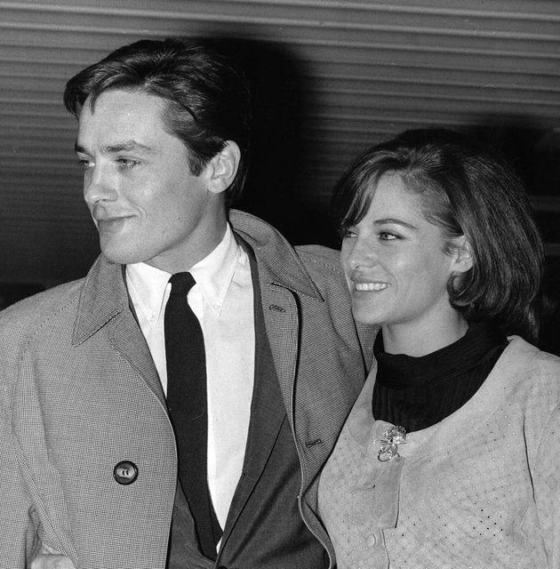 Ναταλί και Αλέν Ντελόν, Απρίλιος 1965, Τόκιο.