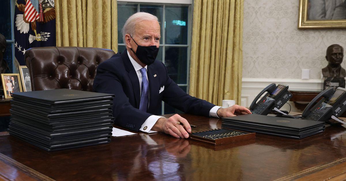 Trump avait un bouton très spécial sur son bureau que Biden n'a pas gardé