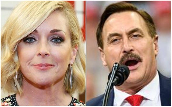 Jane Krakowski and Mike Lindell? Neh-eh, they both say.
