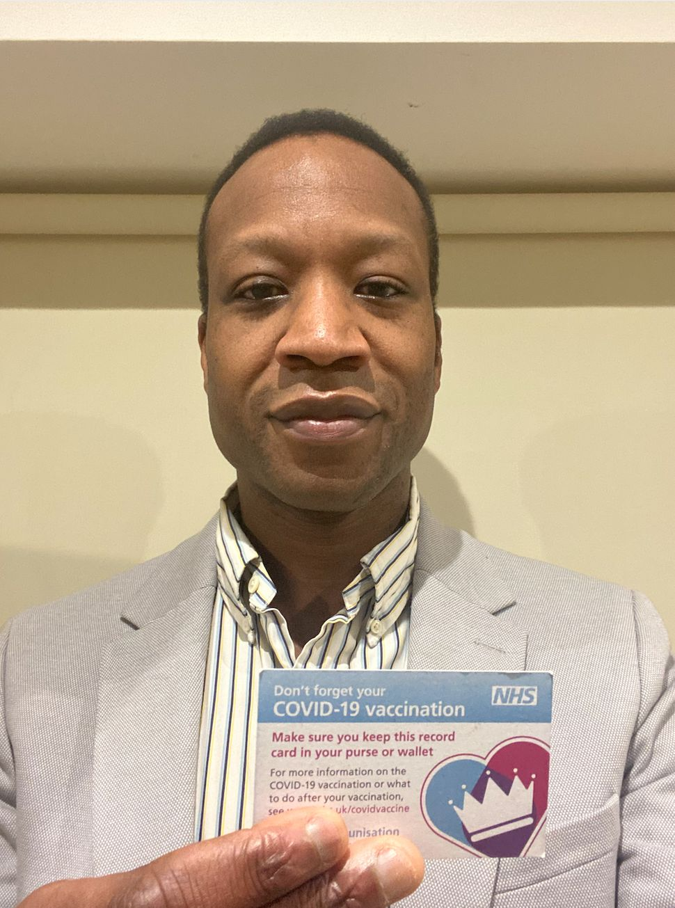 """Dr Abdul Zubairu: """"To anyone who is hesitant or unsure: speak to a healthcare professional and then make an informed decision"""