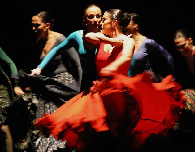 Η Ισπανίδα χορεύτρια...