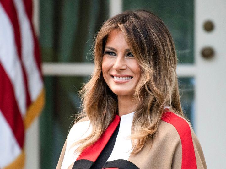 La exprimera dama de Estados Unidos Melania Trump.